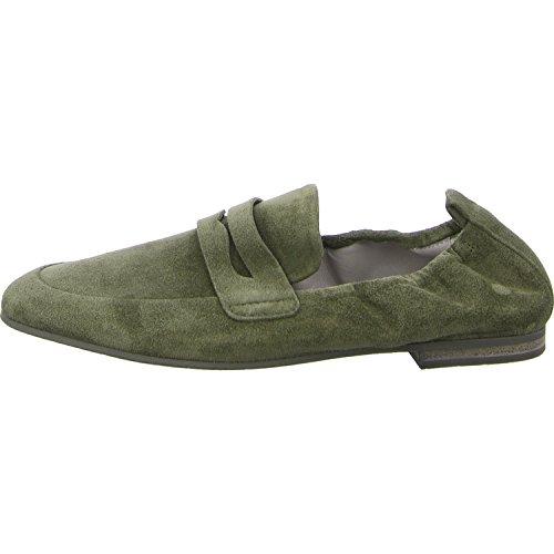 Femmes Schmenger Chaussures De Chenil 22720 256 Flats De Les Manufacture Mocassin Salvia Et Yq0r0nW16