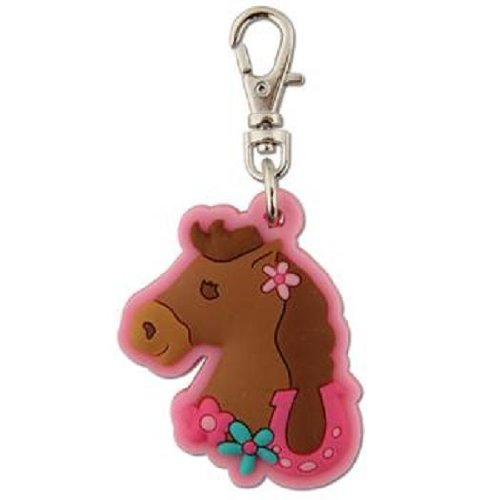 Stephen Joseph Zipper Pull - Girl Horse by Stephen Joseph