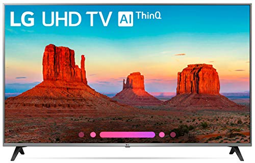 LG Electronics 65UK7700 65-Inch 4K Ultra HD Smart LED TV (2018 Model) (Renewed) (Tv Smart Lg 65)