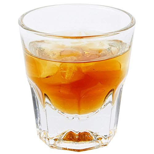 Set of 6 Libbey 15248 Gibraltar DuraTuff 4.5 oz Rocks Glass w/Signature Party Picks