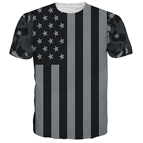 Hgvoetty 4th of July Shirts for Men Women Independence Day T Shirts XL