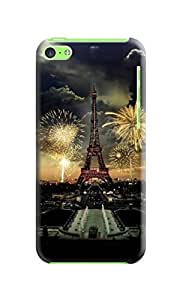 IPhone 5 phone case ,DIY ARTICLE Eiffel Tower in the fireworks - hard plastic case cover/ Paris, France wangjiang maoyi