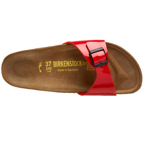 Birkenstock - Madrid, Mules Mujer Rojo Tango