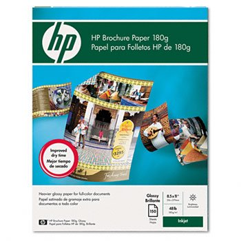 Hp - Paper - Glossy Paper - Letter A Size (8.5 In X 11 In) - 150 Pcs. by HEW-IS