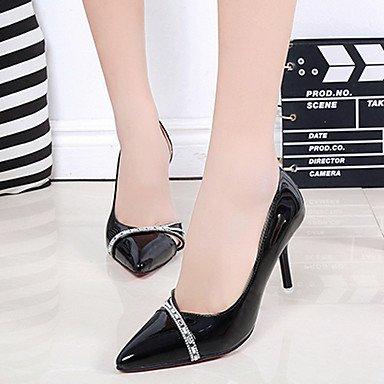 Marche black ggx Talons Talon 5 Rouge cm Confort Confort Printemps 2 à 4 Chaussures Rose 5 Polyuréthane LvYuan à Noir Aiguille Femme Eté Blanc qgdzpgwI