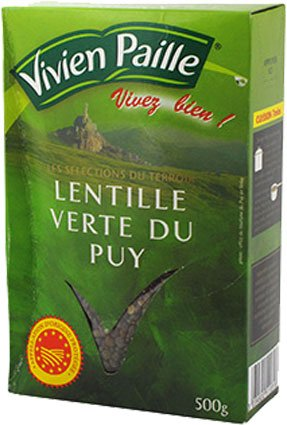 Vivien Paille Green Lentils from Puy A.O.C.