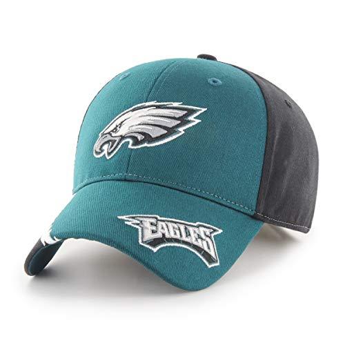 NFL Philadelphia Eagles Rivet OTS All-Star Adjustable Hat, Black, Kid's