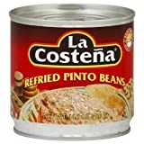 La Costena Refried Pinto Beans, 14.1-Ounce (Pack of 12) by La Costena
