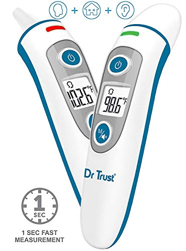 Dr Trust (USA) Clinical Digital Professional I-Check Forehead Ear Infrared Temperature Thermometers Machine for Kids, Adults (B08664MZ74) Amazon Price History, Amazon Price Tracker