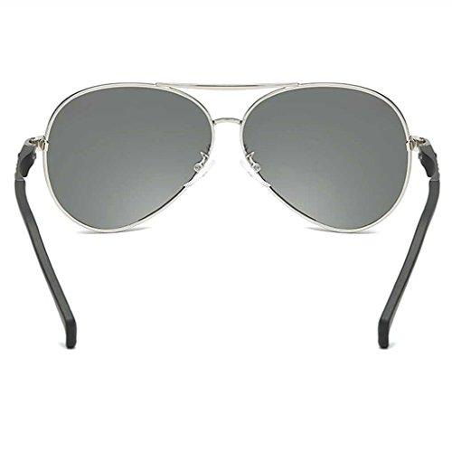 Lente Lentes piloto de Coolsir Bloqueador Gafas 4 la Gafas de de Conducción polarizada Vendimia UV Gafas Providethebest Sol de Las Protección Sol de Solar 8fPPwx