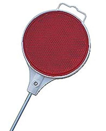 24x Steel Driveway Reflectors 48'' Red Mailbox Markers by GPD (Image #1)