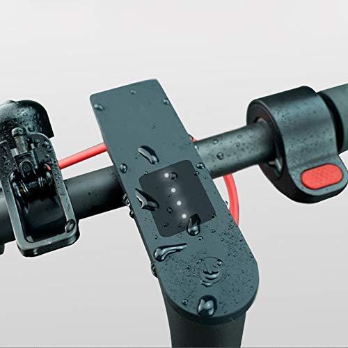 AoJuy Impermeable Pantalla Circuito Impreso Funda Silicona Protector para Xiaomi M365 Pro - Negro