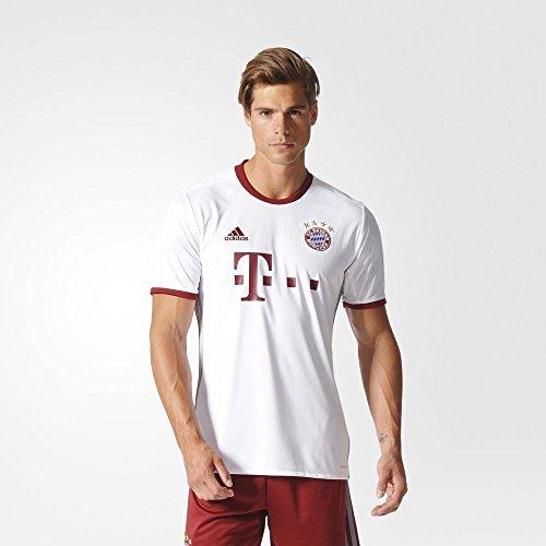 Adidas FC Bayern Munich UCL Jersey-WHITE (Bayern Munich 3 Stripe)