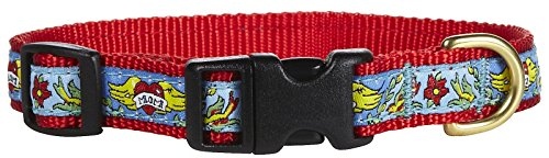 """Up Country Mom Tatoo Collar L (15-21""""); Wide 1"""""""