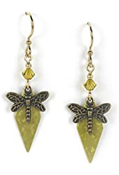 Jody Coyote Earrings QN401-01 Seasons Collection dragonfly