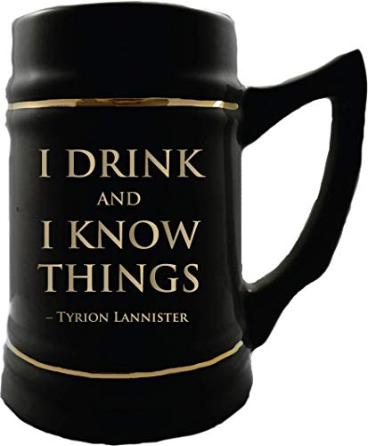 Game of Thrones Collectible Ceramic Steins - I Drink and I Know Things