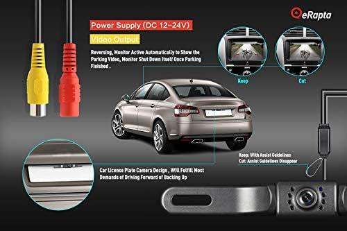 eRapta ERT01 2nd Generation Car Rear View Reversing Backup Camera with View 8 9