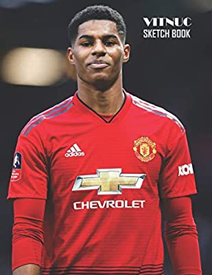 Sketch Book Marcus Rashford Sketchbook 129 Pages Sketching Drawing And Creative Doodling Notebook To Draw And Journal 8 5 X 11 In Large 21 59 X 27 94 Cm Vitnuc Amazon Sg Books