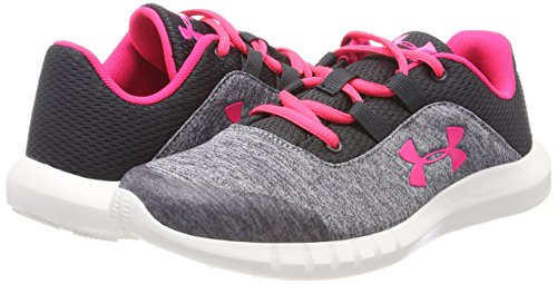 best sneakers acaa3 adaf7 Under Armour Kids Girl's UA Mojo (Big Kid) Anthracite ...