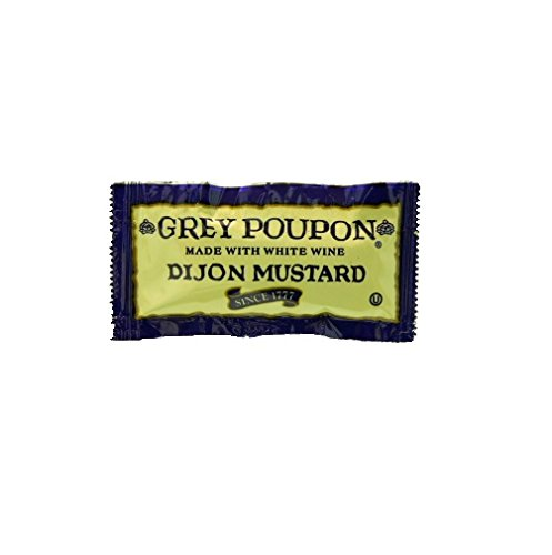 Grey Poupon Dijon Mustard Packets - .25 oz. (Pack of 25)