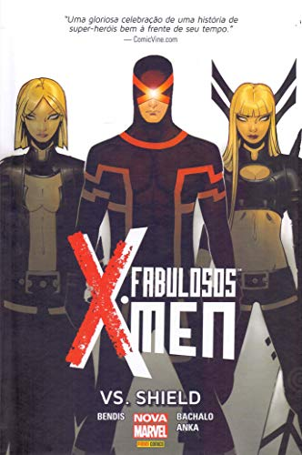 Fabuloso X-Men Vs Shield