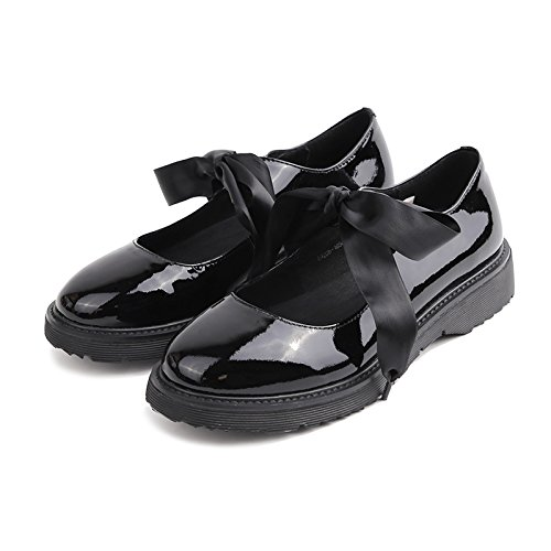 2e7955b1 Angrousobiu luz de la primavera pajarita zapatos de mujer pequeña correa a  la cabeza redonda solo