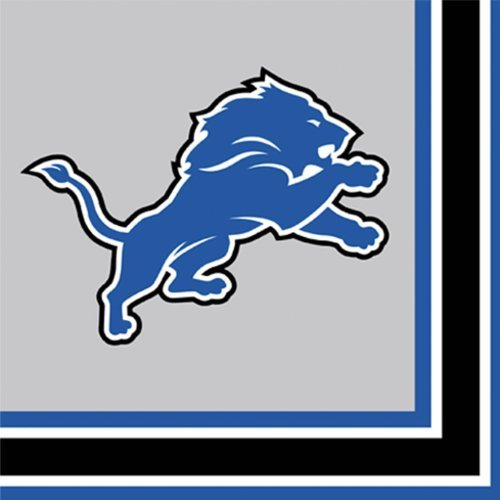 Detroit Lions Luncheon Napkins -