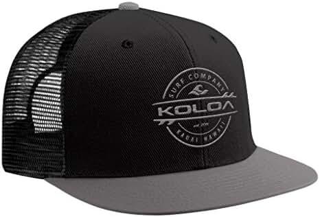 Koloa Surf - Thruster Surfboard Logo Mesh Back Trucker Hats in 12 Colors