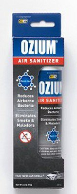 Kraco Enterprises OZM-22 CAR Ozium 3.5 Oz. Aerosol Spray - New Car Scent Pack Of 4