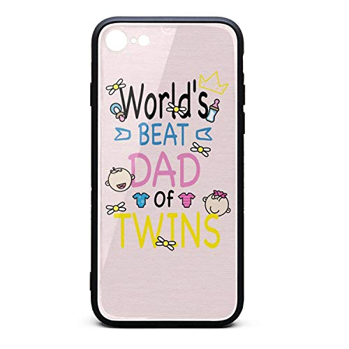 No.1 Dad Father's Day Custom Phone Case iPhone 7/8 Shock Absorbent Cell iPhone 7 Protector - Ftd Gifts Rose
