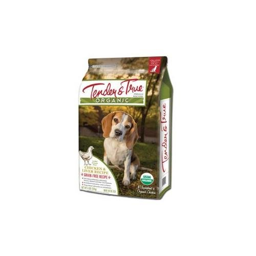 Tender & True Dog Food Organic Chicken & Liver Dry Dog (Organic Pet Food)
