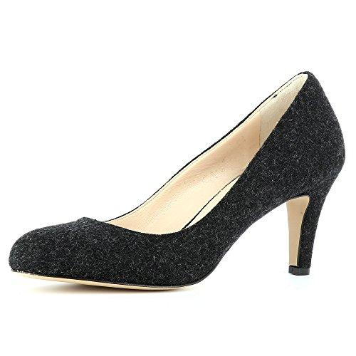 Evita ShoesBIANCA - caño medio Mujer negro
