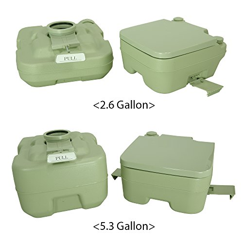 PARTYSAVING New 2.6 Gallon Travel Outdoor Camping Boat Portable ...