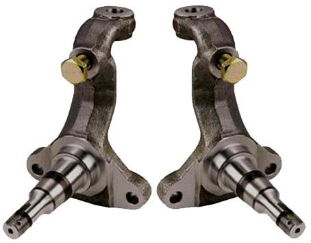 NEW SOUTHWEST SPEED STOCK REPLACEMENT SPINDLES FOR DISC BRAKES ON 64-72 GM A-BODY, 67-69 F-BODY, 68-74 X-BODY, STEERING KNUCKLES, 1964 1965 1966 1967 1968 1969 1970 1971 1972 1973 1974 CHEVELLE EL CAMINO MONTE CARLO NOVA CENTURY SKYLARK CUTLASS 442 GTO LEMANS GRAND PRIX