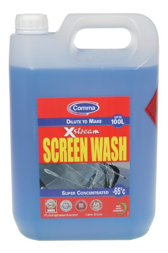 Coma Xstream Screenwash -65c pantalla 5ltr Mantenimiento Car Wash LAVADO DE COMA LA PANTALLA 5LT XSW5L: Amazon.es: Coche y moto