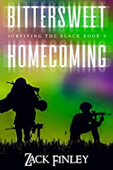 """""""Bittersweet Homecoming"""" (Surviving the Black--Book 3) is a post-apocalyptic survival thriller set in today's America. It thrusts the reader into the lives of a team of warriors attempting a daring rescue mission across a dystopian America st..."""