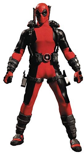 "ONE:12 COLLECTIVE 76450"" Deadpool Figure"