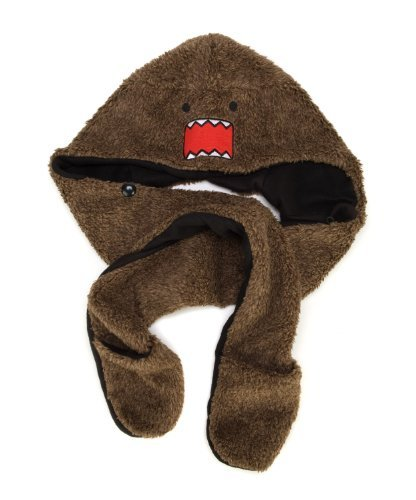 Domo-Kun Domo Face Furry Spirit Hood Snood Hat by Domo Kun