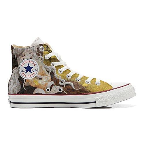 Converse PERSONALIZZATE All Star Hi Canvas, Sneaker Uomo/Donna (prodotto Artigianale) Autunno