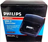 PHILIPS (for Compact CAMCORDERS ONLY VHS-c (Compact VHS Tape) rewinder. Helps Prolong Your Camcorder Life. Rewinds Tapes in Two Minutes. Auto Shut