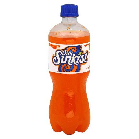 orange soda bottles - 2