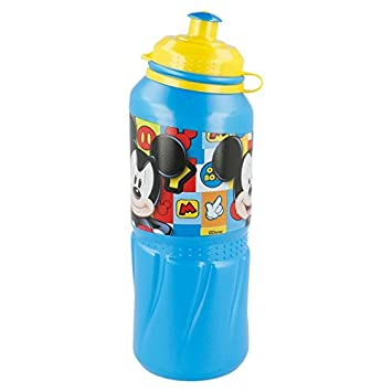 Stor Licencias Botella cantimplora plastico Sport Easy Grande 530ml de Mickey Mouse Icons