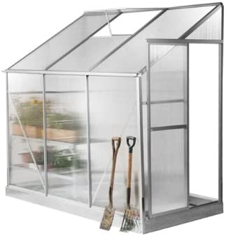 Invernadero, color Gris plateado respaldada Lacewing Tradition 2, 97 m², aluminio: Amazon.es: Jardín