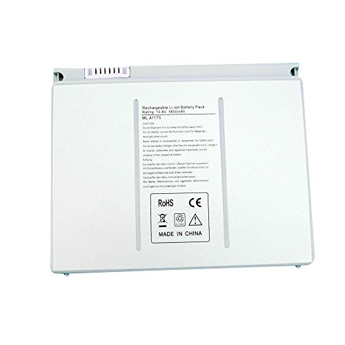 New Li Ion Laptop - SOLICE® A1175 A1260 A1211 A1226 A1150 (only for 2006 2007 2008 Version) New Li-ion Laptop Battery for Apple Macbook Pro 15 inch MA348 M6099 MA348/A MA348G/A MA348J/A laptop [10.8V 5800Mah]