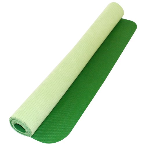 Yoga Direct Deluxe Rubber/Microfiber Travel Yoga Mat (Green) by Yoga Direct