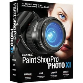 Corel Paint Shop Pro Photo XI (Photo Editing Software Reviews)