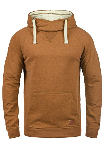 Homme Brown Pull Capuche Doublure Sales Sweat Blend Pour Polaire Rust À 71512 Hoodie 1TP0tq