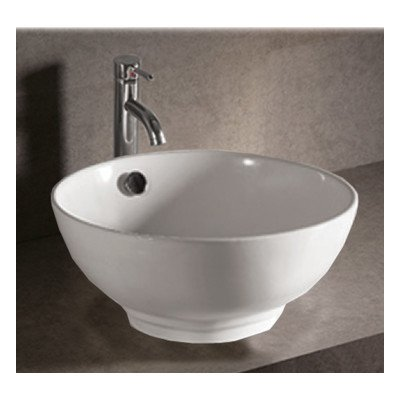 Whitehaus Collection WHKN1051 Isabella Collection Basin, White