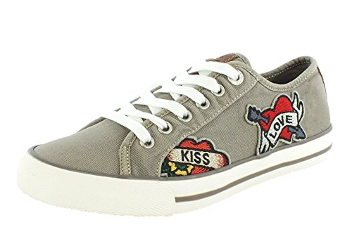 7278 s.Oliver Canvas Sneaker Grey