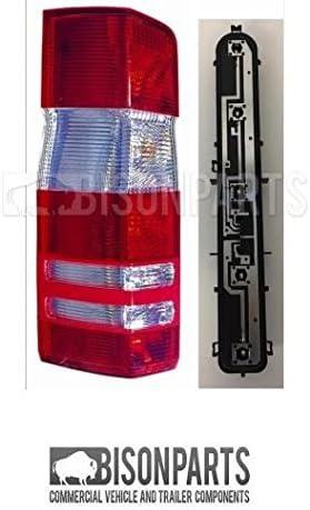 MER349 /& MER699 Rear Tail Light Lamp Lens /& Bulb Holder LH//NS